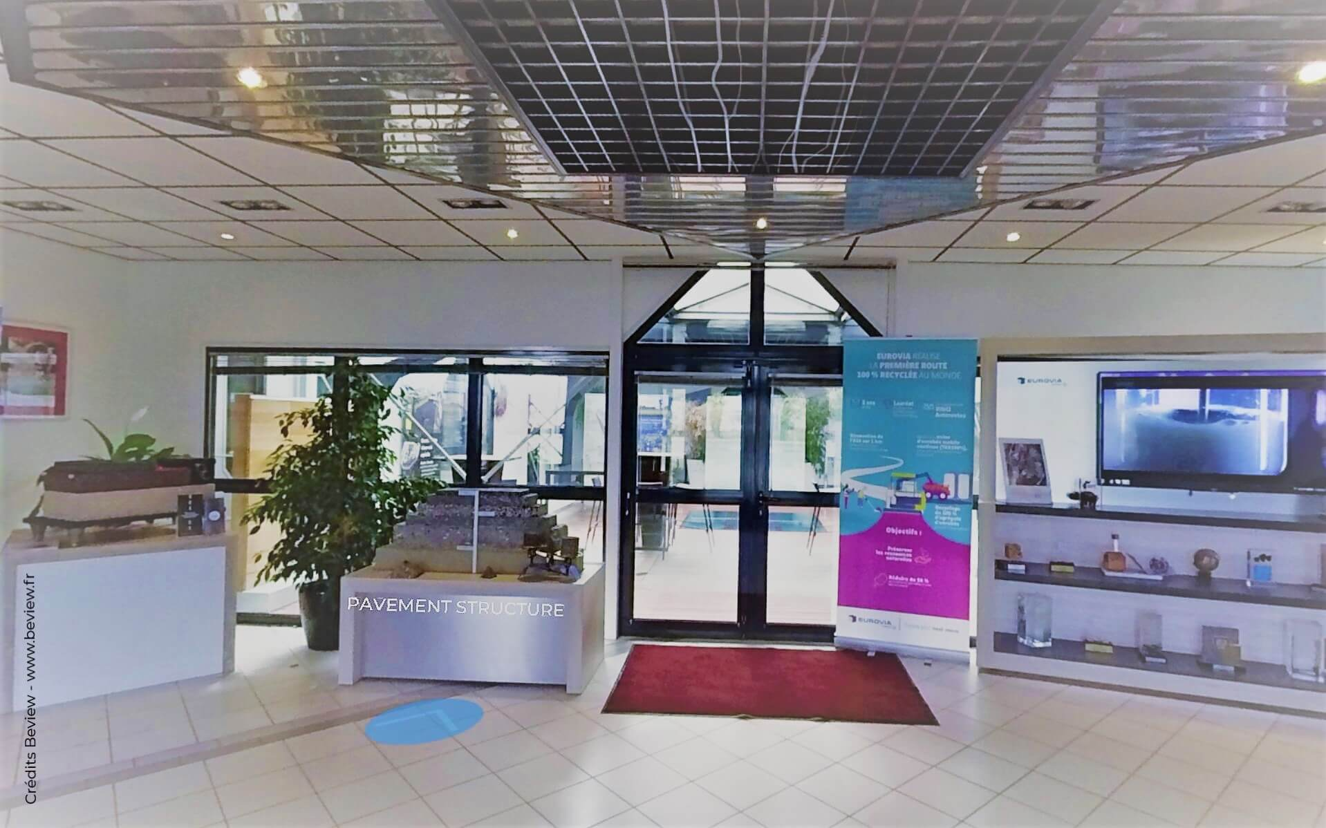 Visite virtuelle du showroom EUROVIA